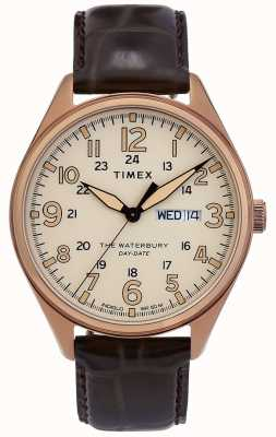Timex | waterbury | traditioneel | dag datum horloge | TW2R89200D7PF