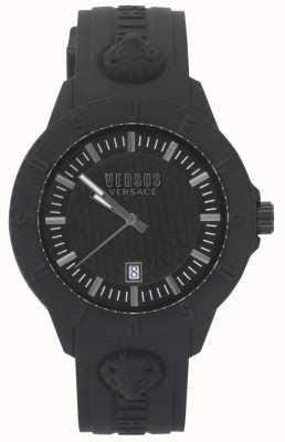 Versus Versace | dames zwart horloge | siliconen band | VSPOY2318