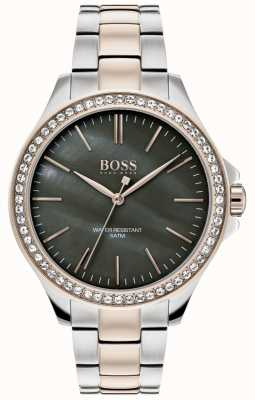 BOSS | dames two tone roestvrij stalen armband | 1502452