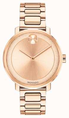 Movado Vet | rosegouden horloge | 3600503