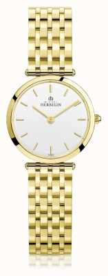 Michel Herbelin | dames | epsilon | extra platte gouden pvd armband | 17116/BP11