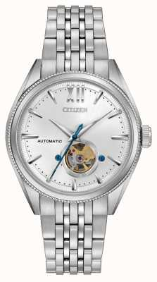 Citizen | heren signature grand classic automatisch | roestvrij staal NB4000-51A