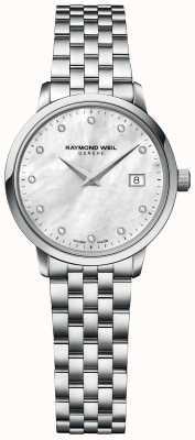 Raymond Weil | toccata diamant voor vrouwen | roestvrijstalen armband | 5985-ST-97081