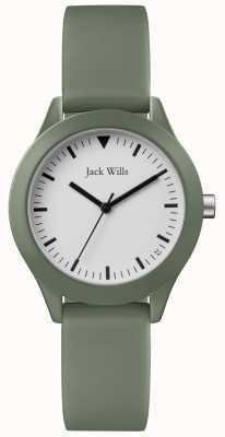 Jack Wills | dames grijze rubberen riem | JW008FGFG