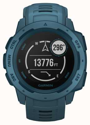 Garmin Instinct lakeside blauwe outdoor gps siliconen band 010-02064-04