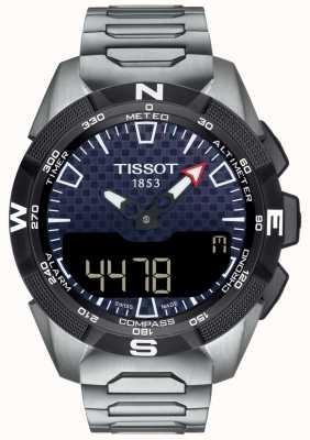 Tissot | mens t-touch expert solar ii | titanium armband | T1104204405100