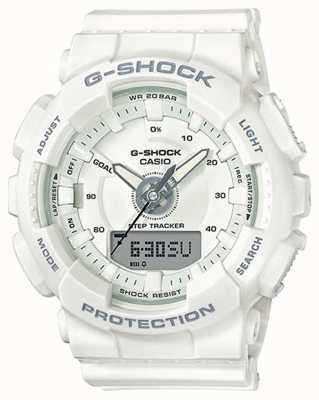 Casio | hars-g-shock van vrouwen | witte riem | GMA-S130-7AER