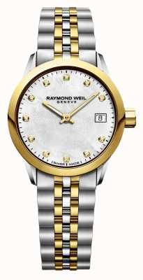 Raymond Weil Womens freelancer diamant two tone roestvrij staal 5626-STP-97081