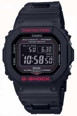 Casio Mens g-shock heritage zwarte kunstharsband digitaal GW-B5600HR-1ER