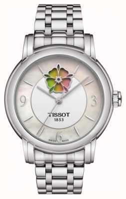 Tissot Dames hart bloem powermatic 80 roestvrij stalen armband T0502071111705
