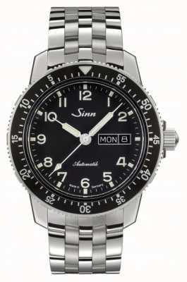 Sinn 104 st is een klassieke pilot watch roestvrijstalen armband 104.011 BRACELET