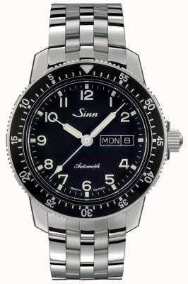 Sinn 104 st sa een klassieke pilot watch fijne schakel stalen armband 104.011 FINE LINK BRACELET