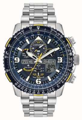 Citizen Blue Angels Skyhawk voor heren bij Eco-Drive Stainless Steel JY8078-52L