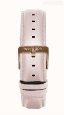 Weird Ape Roze lederen 16mm band rosé gouden gesp ST01-000112