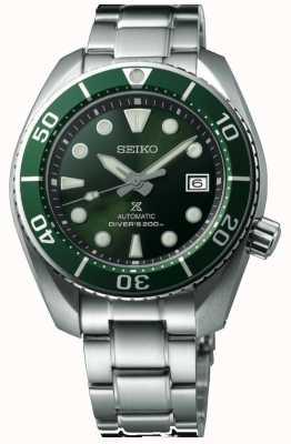 Seiko Prospex duiker sumo groen heren roestvrij staal SPB103J1