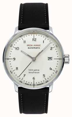 Iron Annie Bauhaus | automatisch | zwarte lederen band | 5056-1