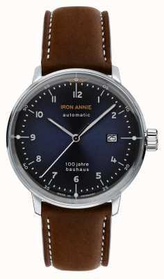Iron Annie Bauhaus | automatisch | bruine leren band | 5056-3