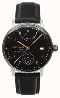 Iron Annie Bauhaus | automatisch | gangreserve | zwart | 5066-2