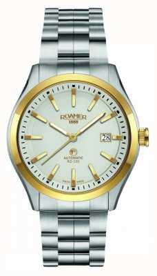 Roamer | automatisch rd100 | roestvrij stalen armband | witte wijzerplaat | 951660 47 15 90
