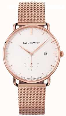 Paul Hewitt Grand atlantic mesh band horloge PH-TGA-R-W-4S