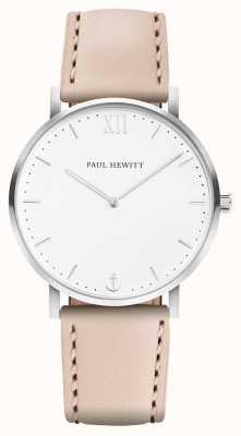 Paul Hewitt | heren matrozenlijn | beige leren band | PH-SA-R-5M-W-22S