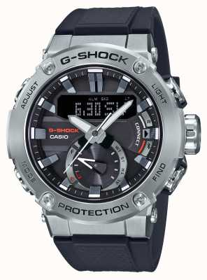 Casio G-staal g-shock bluetooth link 200m wr rubberen band GST-B200-1AER