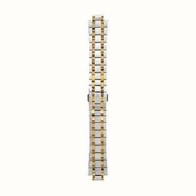 Maurice Lacroix | 20 mm tweekleurige roestvrij stalen armband | ML450-005014