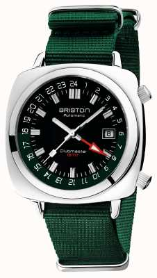 Briston Clubmaster gmt limited edition | auto | groene nato riem 19842.PS.G.10.NBG
