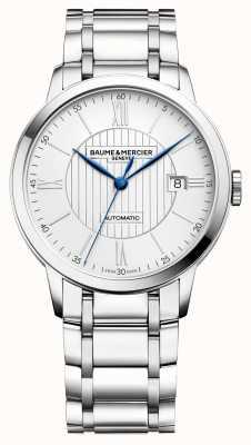 Baume & Mercier | heren classima | automatisch | roestvrij staal | zilveren wijzerplaat M0A10215