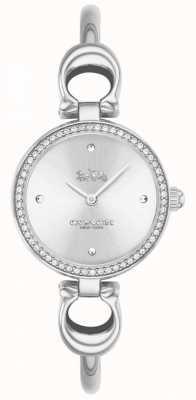 Coach | dames | park | stalen armband armband | witte wijzerplaat | 14503448