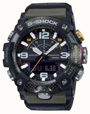 Casio Modder met koolstofkern | stopwatch | Bluetooth GG-B100-1A3ER