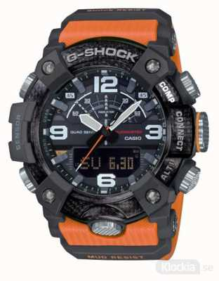 Casio Modder met koolstofkern | stopwatch | Bluetooth GG-B100-1A9ER