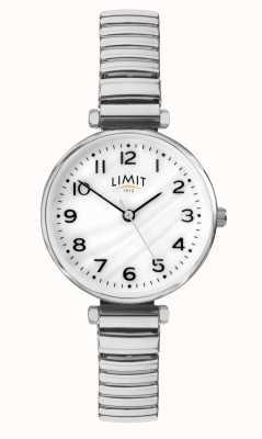 Limit | dames armband in edelstaal | parelmoer wijzerplaat | 60062.01