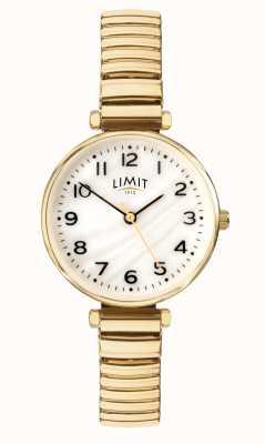 Limit | vrouwen vergulde armband | parelmoer wijzerplaat | 60063.01