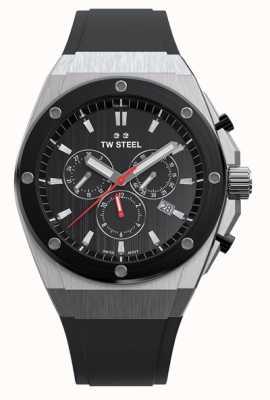 TW Steel   ceo tech   beperkte oplage   chronograaf   zwart rubber   CE4042