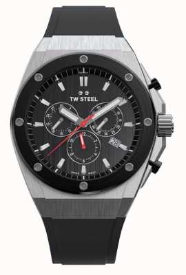 TW Steel | ceo tech | beperkte oplage | chronograaf | zwart rubber | CE4042