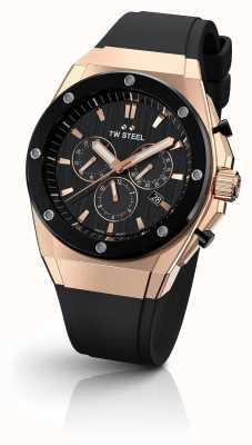 TW Steel | ceo tech | beperkte oplage | chronograaf | zwart rubber | CE4048