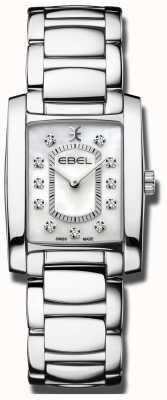 EBEL Bracelets van vrouwen | parelmoer wijzerplaat | roestvrij staal 1216462