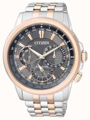 Citizen | mens eco-drive | roestvrij stalen armband | BU2026-65H