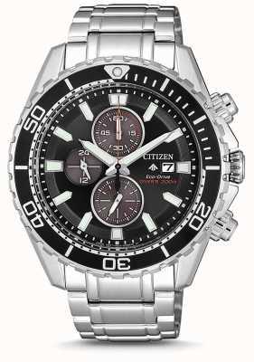 Citizen | mens eco-drive promaster duiker | roestvrijstalen armband CA0711-80H