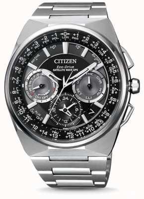 Citizen | mens eco-drive satellietgolf gps | titanium armband | CC9008-84E
