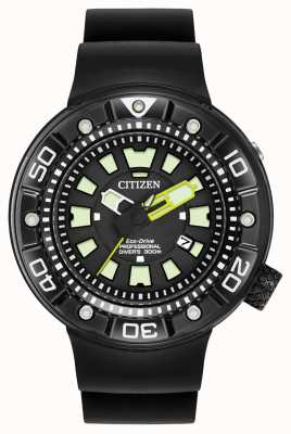 Citizen | mens eco-drive promaster duiker | zwarte rubberen band | BN0175-01E