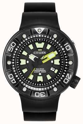 Citizen | mens eco-drive promaster duiker | zwarte rubberen riem | BN0175-01E