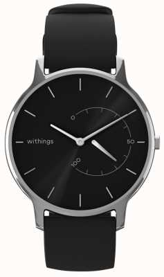 Withings Verplaats tijdloos chic - zwart, zwart siliconen HWA06M-TIMELESS CHIC-MODEL 1-RET-INT