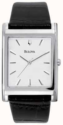 Bulova Automatische heren | roestvrijstalen armband | zilveren wijzerplaat 96A238