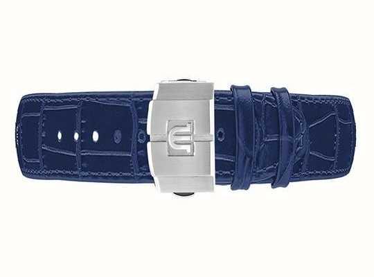 Maurice Lacroix Aikon blauwe kalfslederen band met alleen 42mm sluiting ML740-005052-ML508-005008