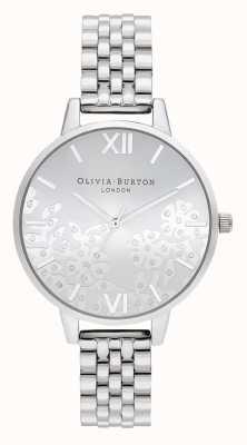 Olivia Burton | dames | met juwelen getooide kant | roestvrij stalen armband | OB16MV101