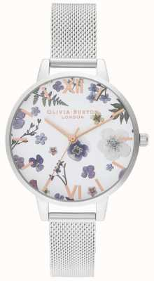 Olivia Burton | dames | ambachtsman | roestvrij stalen gaas armband | OB16AR09