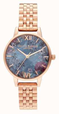 Olivia Burton | vrouwen | onder de zee | rosegouden armband | OB16US25