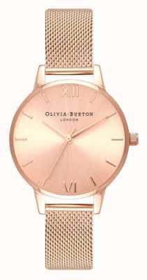 Olivia Burton | vrouwen | midi | zonneknop rosegouden armband OB16MD84